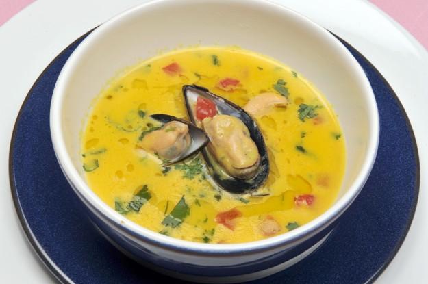 Mussel and Saffron Soup ©Kevin Ashton 2008