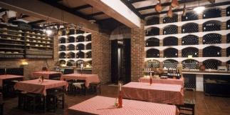 Wine cellar and shop