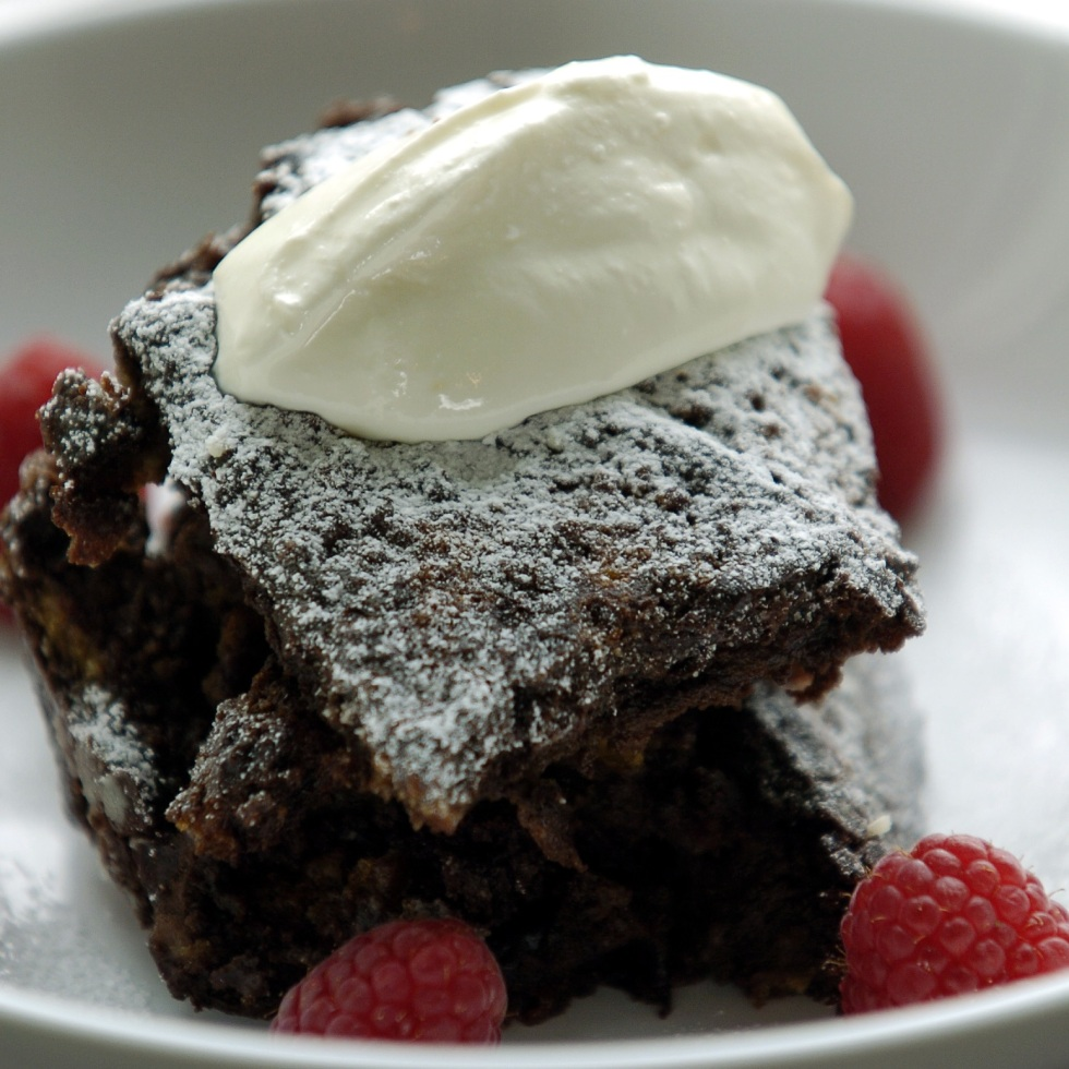 Chocolate Bread and Butter Pudding ©Kevin Ashton 2005