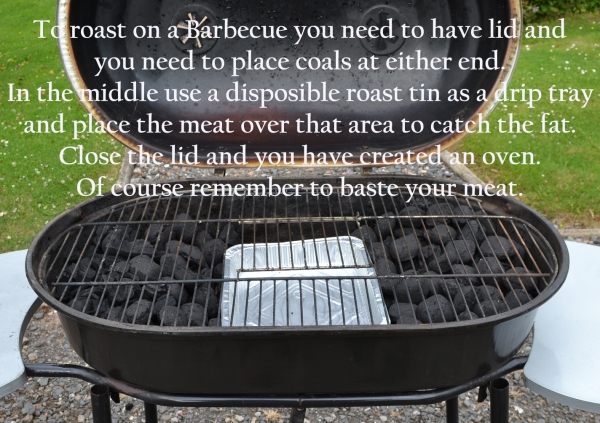 Indirect method bbq