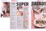 Salad article in the Sunday Mercury