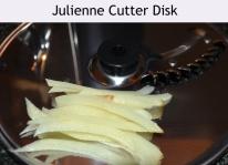 Julienne cutter disk
