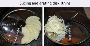 SSlicing and grating disk thin