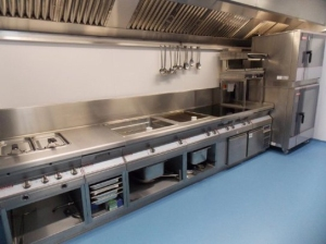 Hotside of kitchen