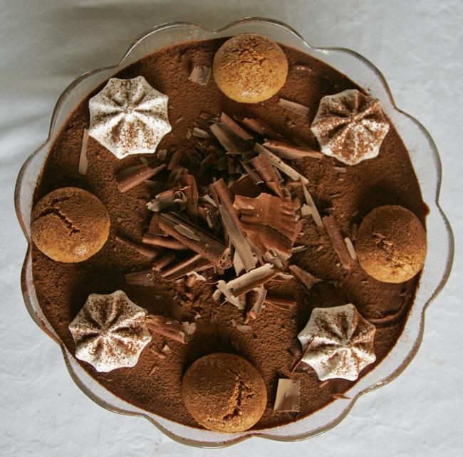 Italian chocolate trifle ©kevin Ashton 2005