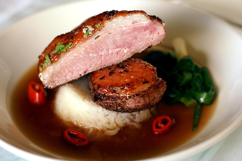 Duck with Star Anise Broth© Kevin Ashton 2007