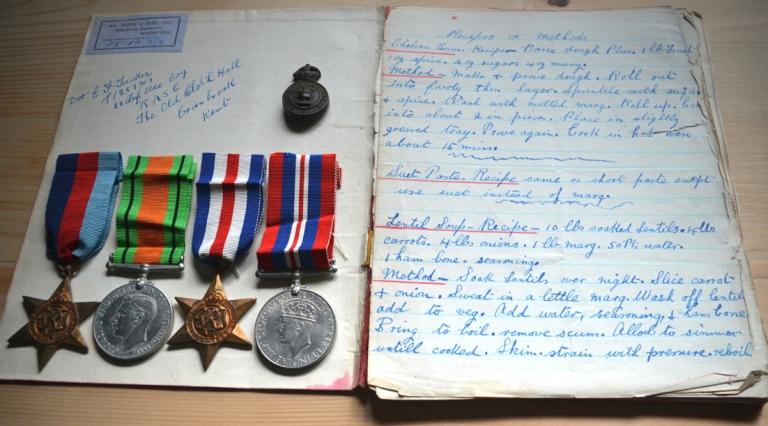Edward Francis Tucker medals