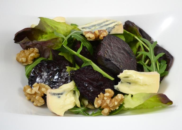beetroot-salad-with-black-garlic-dressing
