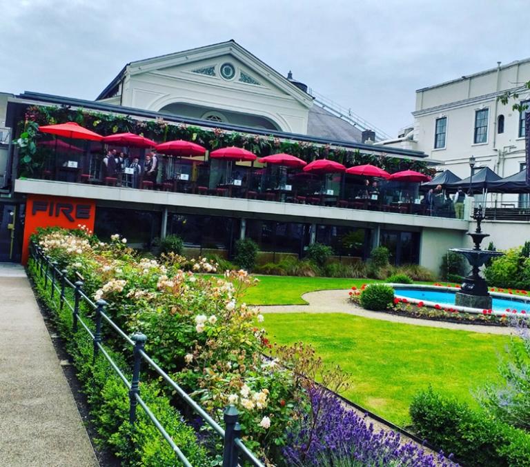 Fire Restaurant and Lounge, Dublin
