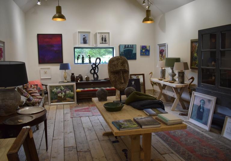 Green Barn Restaurant Art Gallery