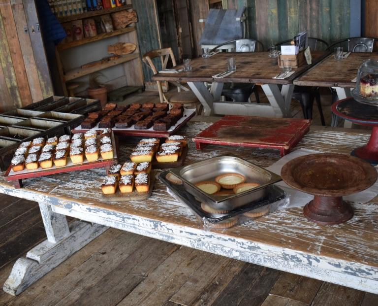 Green Barn Restaurant desserts