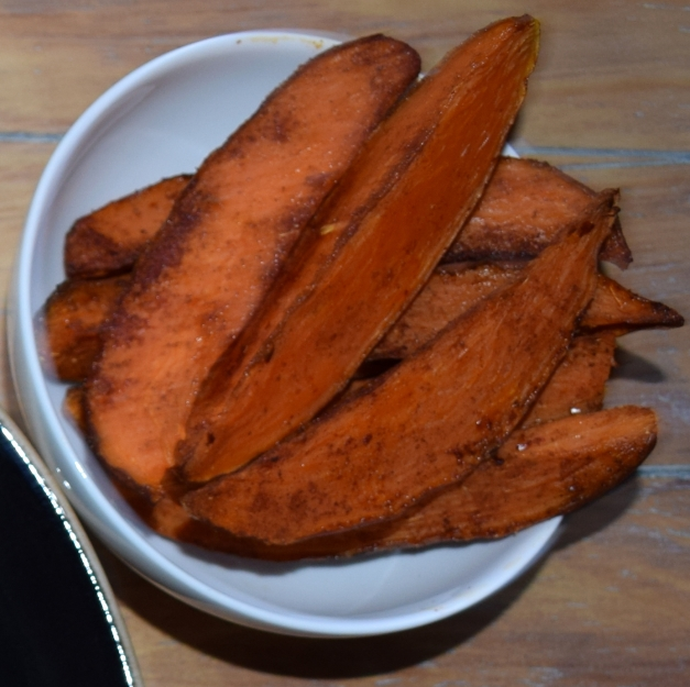 Sweet & Spicy Potato Wedges ©Kevin Aston 2020
