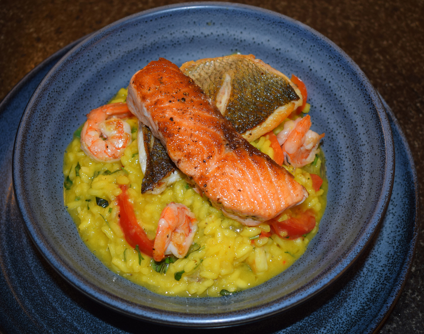 Seafood Risotto  by Kevin Ashton